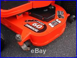 13 Kubota ZD323,23 hp. Diesel, 60 deck & bagger, zero turn mower NICE