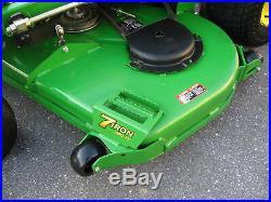 14 John Deere 997, diesel, 72 deck, zero turn mower