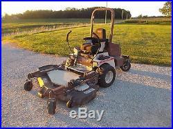 2006 Grasshopper 729 61 Power Fold Deck 3-cylinder Kubota Zero Turn lawnmower
