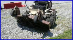 2007 Grasshopper 722d Front Deck Zero Turn Mower. 52 Power Fold. Kubota Diesel