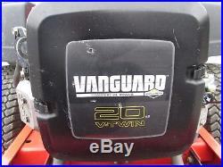 2007 Simplicity Champion 50 ZERO TURN MOWER 20 hp Briggs Stratton Vanguard used