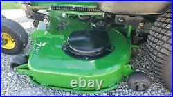 2008 John Deere 757 ZTrak Gas Zero Turn Rotary Mower 7 Iron Commercial 60 Deck