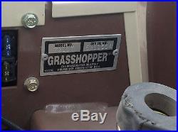 2009 Grasshopper 721DT 60 Diesel Zero Turn Mower USED