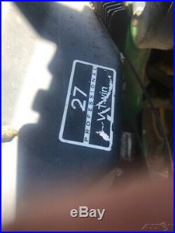 2009 John Deere Z925 Zero Turn Mower with 60 Deck Only 2200 Hours