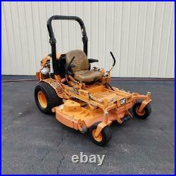 2010 61 Scag Turf Tiger 28hp Cat Diesel Zero Turn Commercial Riding Lawn Mower