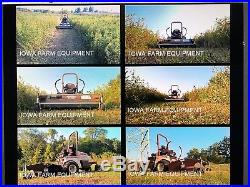 2010 Grasshopper 721DT Front Mount Deck 52 cut-Kubota Diesel Engine commercial