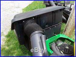 2010 JOHN DEERE Z225 EZ ZERO TURN MOWER With BAGGER 42 MOWER 18.5HP LOW HOURS
