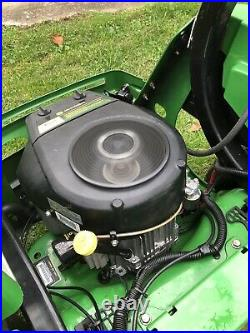 2010 John Deere Z925 Zero Turn Lawn Mower With60 Deck Kawasaki 25HP Engine
