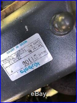 2010 Toro Ground Master 7200 72 Lawn Mower Kubota Diesel Engine 1537 Hours