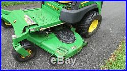 2011 One Owner John Deere 997 Commerial Zero Turn Mower Diesel 72 1171 Hrs 31hp