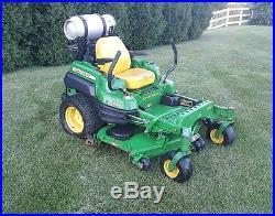 2012 John Deere Z930A zero turn lawn mower 60 deck 25.5hp propane