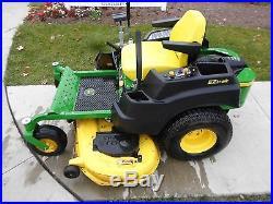 2013 John Deere Z445 Zero Turn Mower 54 Deck Zturn Tractor Na# 142053