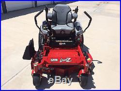 2014 EXmark Lazer Z Zero Turn Riding Mower X Series Only 21 Hours