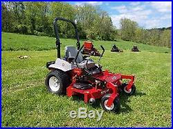 2014 Exmark 60 Lazer Z Commercial Zero Turn Lawn Mower Tractor ZTR Rider Mowing