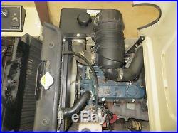 2014 Grasshopper 729T6 61 Manual Fold Deck Kubota Gas Engine Free Shipping