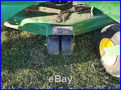 2014 John Deere Z track 930 M. Zero Turn gas mower