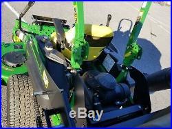 2014 John Deere zeroturn 72 deck DFS bagger 31hp Kawasaki engine ZT used 142 hr