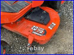 2014 Kubota Zd331-72 Zero Turn Mower, 2 Post Rops, 2wd, Hydrostatic, 610 Hours
