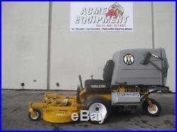 2014 WALKER T25i ZERO TURN COMMERCIAL LAWN MOWER BAGGER & 48 GHS DECK SHARP