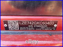2015 Exmark 60 Lazer Z Commercial Hydro Zero Turn Lawn Mower Kohler 24 Engine