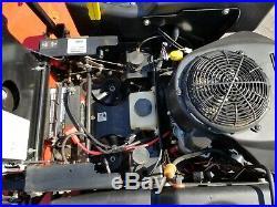 2015 Gravely HD60 zeroturn 60 fabdeck 23hp Kawasaki ZT mulch kit used 248 hours