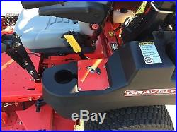 2015 Gravely Pro Turn 252 Zero Turn Lawn Mower with Bagger