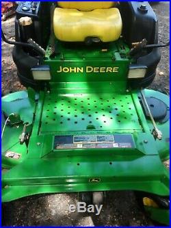 2015 John Deere 997R 72 Mower W / Diesel Engine 1000 Hours ZTR Great shape