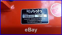 2015 KUBOTA ZD331 31 HP DIESEL ZERO TURN MOWER only 72 Hrs