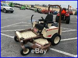 2016 Grasshopper Mower 126v MID Mount Zero Turn 26 HP Briggs 52 Deck 83 Hrs