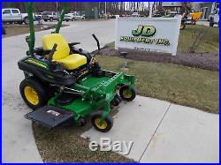 2016 John Deere Z915b 60 Deck Commercial Zero-turn Mower Nastock# 145966
