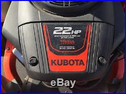 2016 Kubota Z122 Zero Turn Mower Only 97 Hours