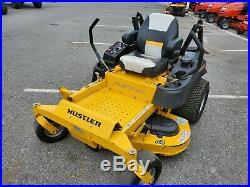 2017 Hustler Fastrak 54RD zeroturn 23hp Kohler Confidant ZT used rear discharge