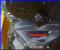 2017 Hustler Hyper-Drive Super Z Zero Turn Mower Kawasaki Engine Only 35 hrs
