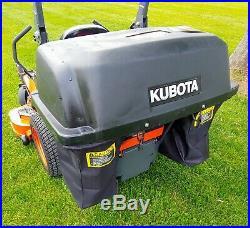 2017 Kubota ZD1011 Zero Turn Mower, 19HP Diesel, 54in Hyd Lift Deck, 213 Hours