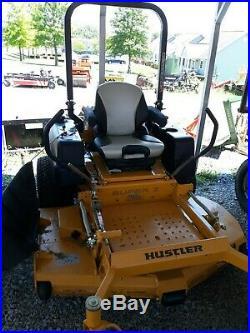 2018 Hustler Super Z demo unit 60 VX$ deck and 29 hp Kohler EFI used 107 hours