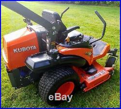 2018 Kubota ZG327RP Rear Discharge Mulching Zero Turn Mower Only 181 Hrs