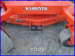 2019 Kubota Z725 Zero Turn Mower, 60 Deck, 25hp Kohler Gas, Hydrostatic, 66 Hrs