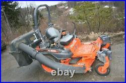 2020 Kubota Z411KW Zero Turn Lawn Mower with Grass Catcher &Counter Only 16 Hours
