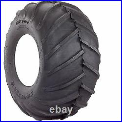 24x12.00-12 Carlisle AT-101 Chevron Tire 4ply Zero Turn Mower Pro Grade R-1 Lug