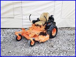 25HP 48 Scag Tiger Cat Zero Turn Rider Commercial Lawn Mower Tiger Cub ZTR 52