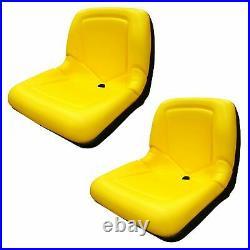 (2 Seats) Yellow Seat for John Deere Gator CS TS TX 4X2 AM133476 Yellow
