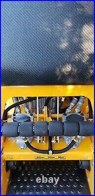 36 Wright Stander Commercial Zero Turn Mower stand on Kawasaki engine