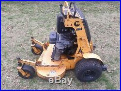 36 Wright Stander Commercial Zero Turn Stand On Lawn Mower cranks on first pull