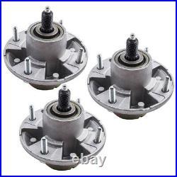 3pcs Spindle Assembly for John Deere Zero Turn Mower Z425 Z445 48 54 Decks