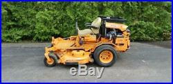 425 hours 61 Scag Turf Tiger Kubota 25HP Diesel Zero Turn Commercial Lawn Mower