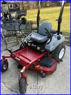 52 Zero turn commercial grade eX-mark riding lawnmower one owner/operator