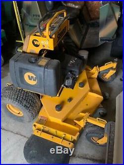 52 wright stander 23 hp Kawasaki commercial mower