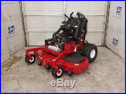 60 Exmark Vantage 27HP Kohler EFI Stand On Commerical Lawn Mower Stander ZTR