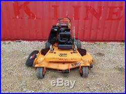 61 Scag V-Ride 26HP EFI Zero Turn Commercial Stander Lawn Mower
