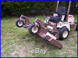 721D Grasshopper Mower 72 inch deck Kubota Diesel zero turn mower